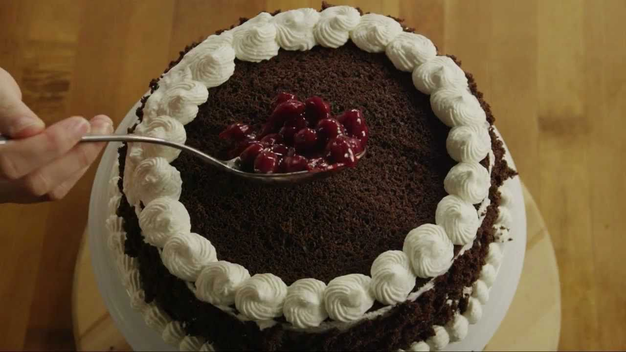 How To Make Black Forest Cake Quot Food Is Our Common Ground