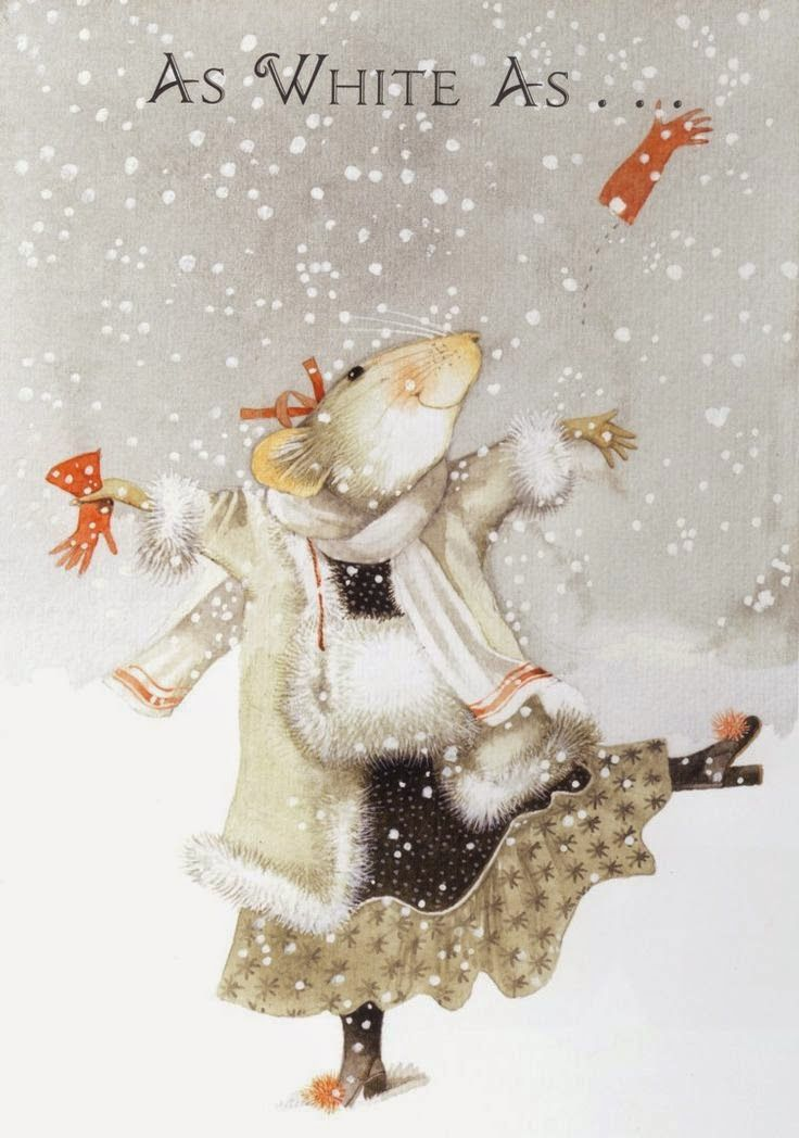 illustr.quenalbertini: 'Snow' by Marjolein Bastin, Pinzellades al món