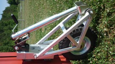 Custom Made Retractable Wheel Project A Portable