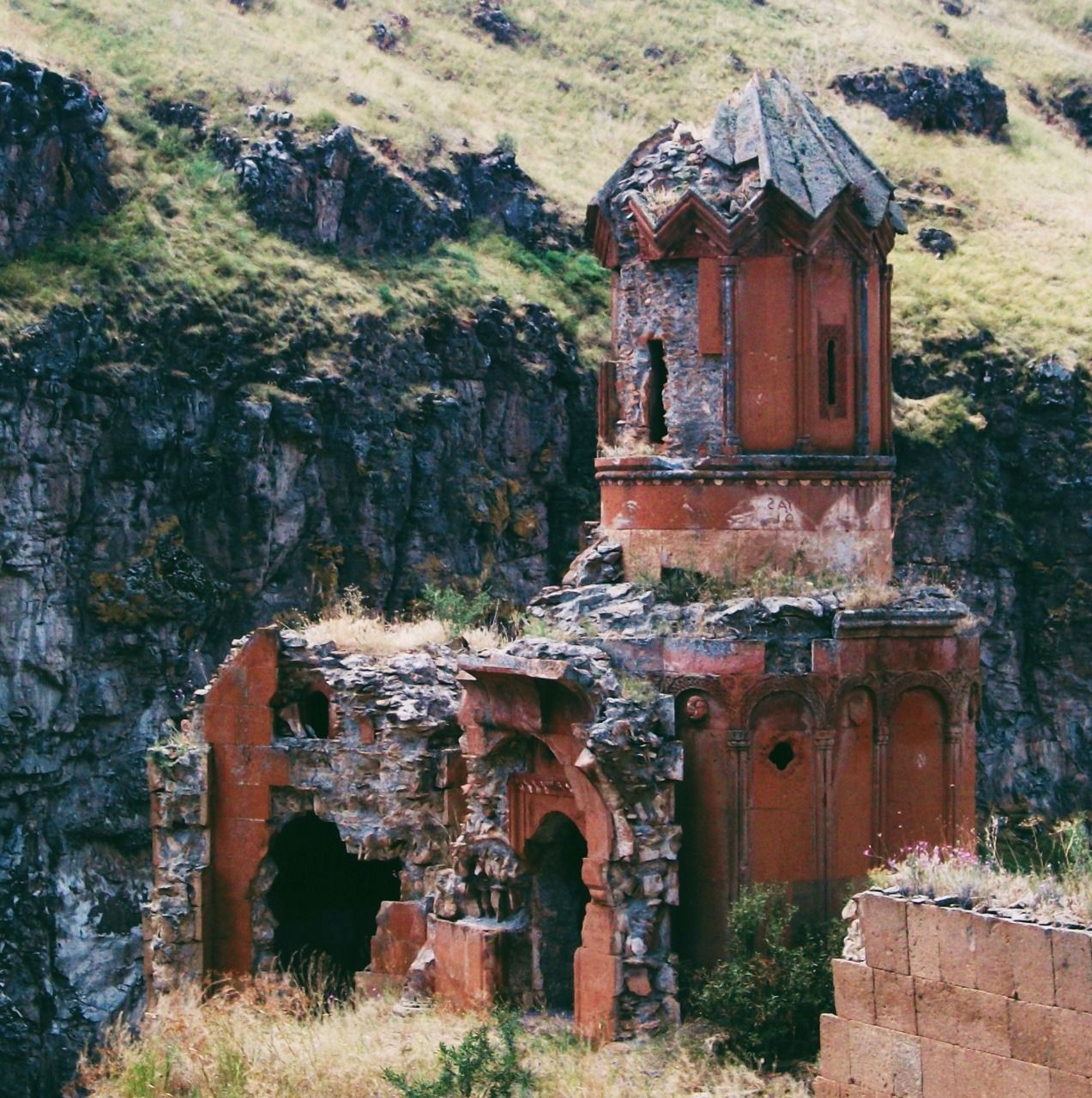 The Ruins Of The Ancient Armenian Ghost City, Ani, Turkey