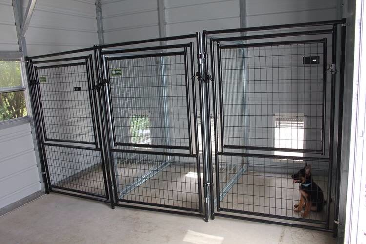 Inside kennel Home Ideas Pinterest
