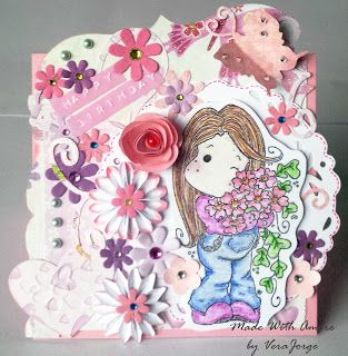 Made With Amore  by Vera Jorge: Happy Birthday Card