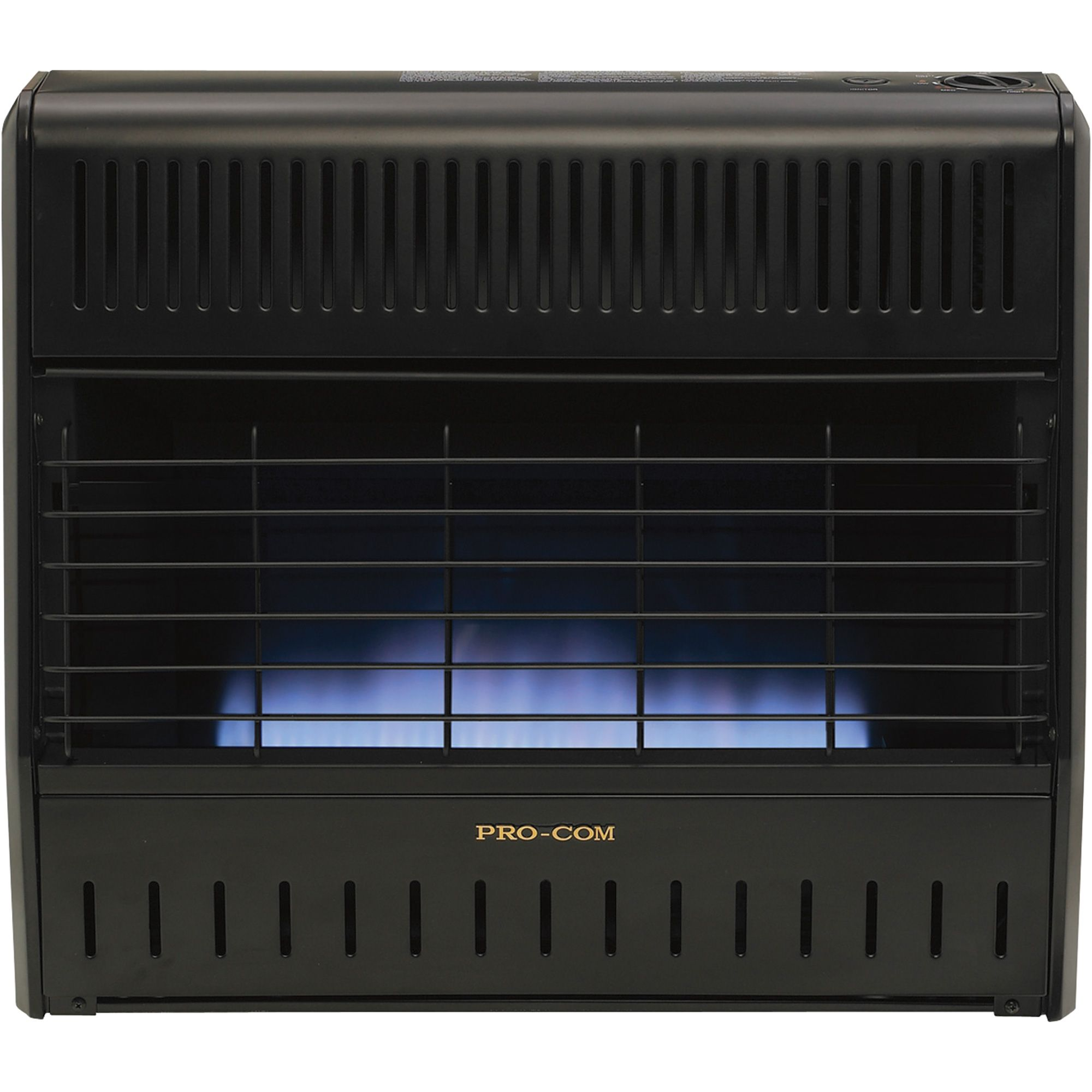 Procom Dual Fuel Vent Free Blue Flame Garage Heater