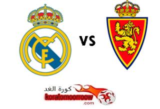 موعد مباراة ريال مدريد وريال سرقسطة القادمة فى كأس ملك إسبانيا والقنوات الناقلة Real Zaragoza Zaragoza Real Madrid