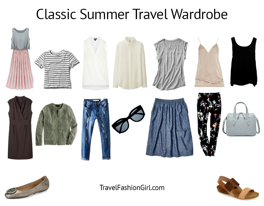 a6d996476f4 The Classic Packing List - Travel Fashion Girl
