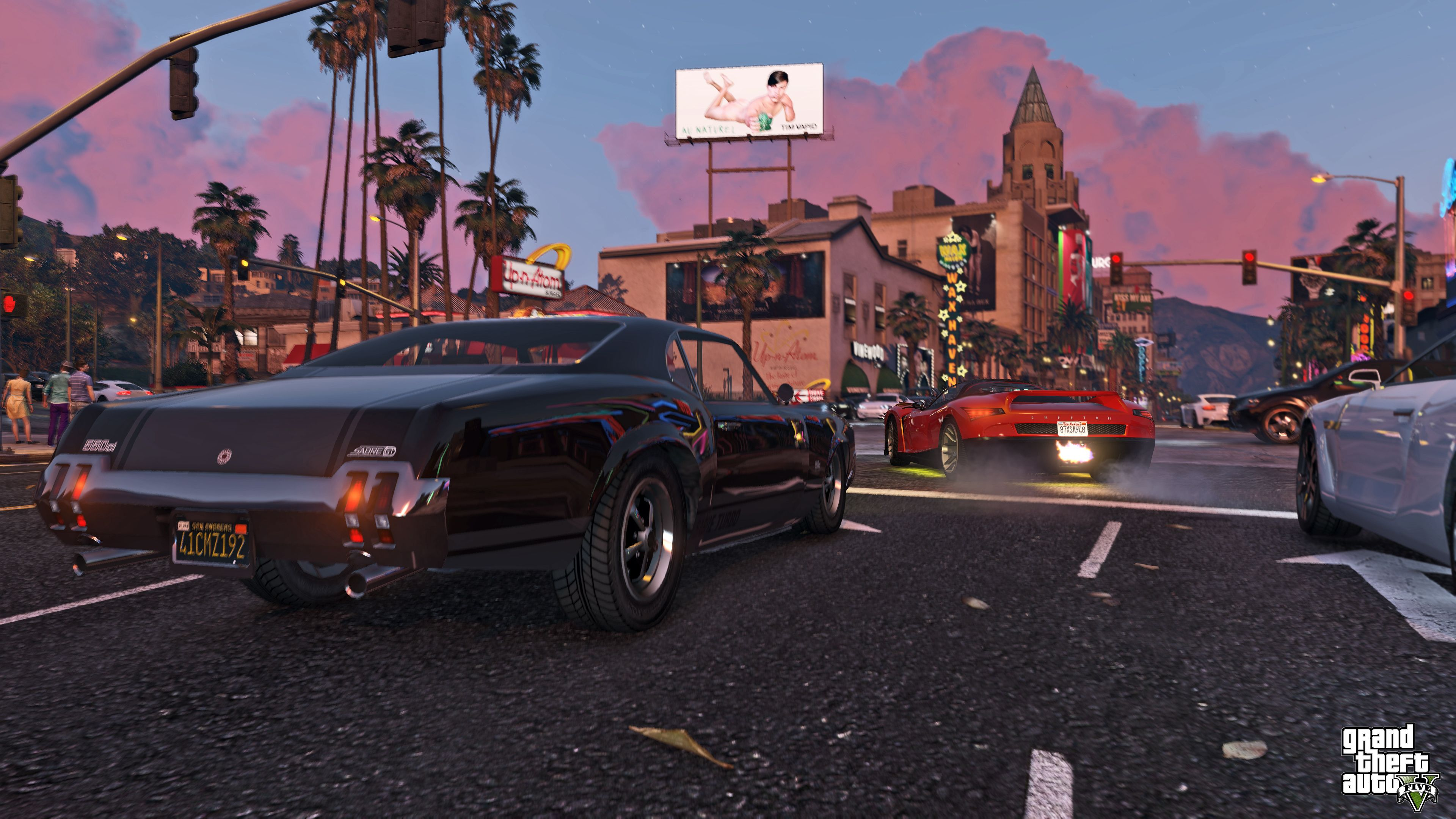 Screens Grand Theft Auto V Grand theft auto, Rockstar