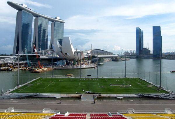 Marina Bay Floating Stadium Singapore Singapore Grand Prix Singapore Stadium