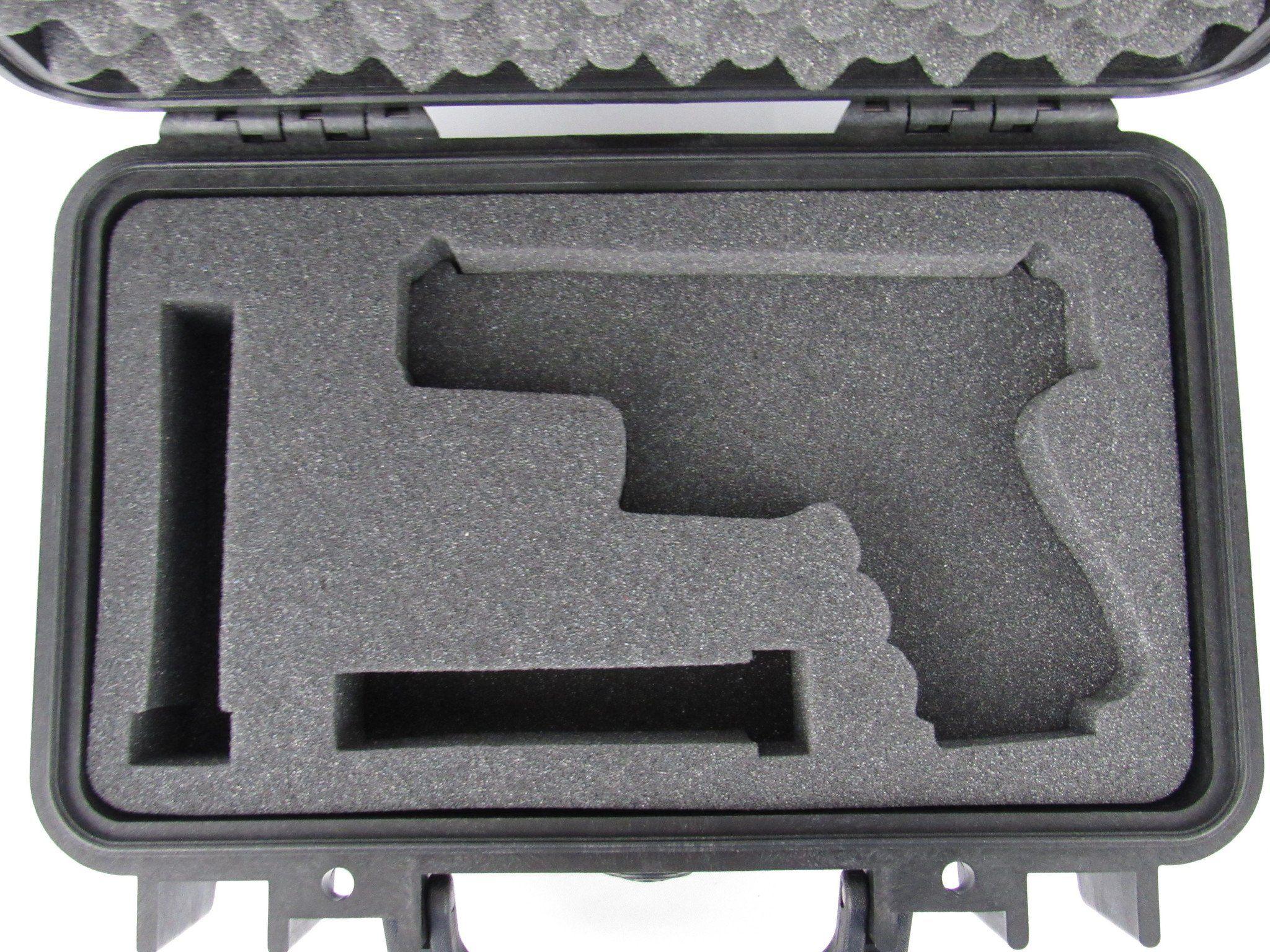 Pelican Case 1170 With Custom Insert for Glock 19 & Magazines ...