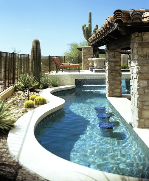 Patio Pools Spas Tucson Az: Custom Swimming Pool Features