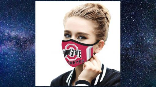 Ohio State Buckeyes Face Mask - Face Mask Limited Edition - Teefoody.com