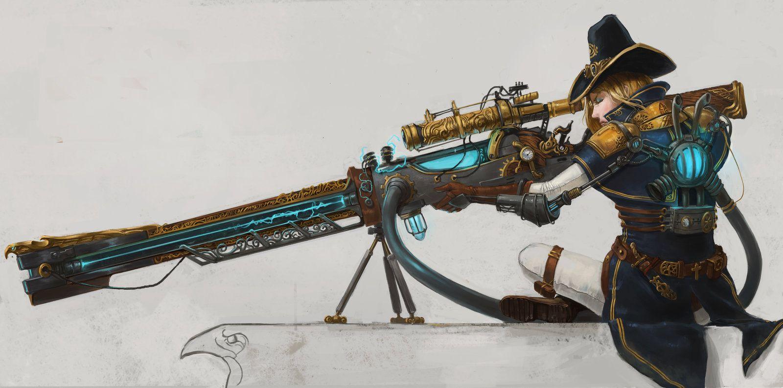 The Order 1886 Contest Entry Rail Gun By Devmarine Deviantart Com On Deviantart Art