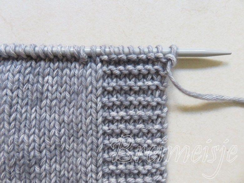 Nieuwe draad aanhechten bij breien of haken #breienenhaken