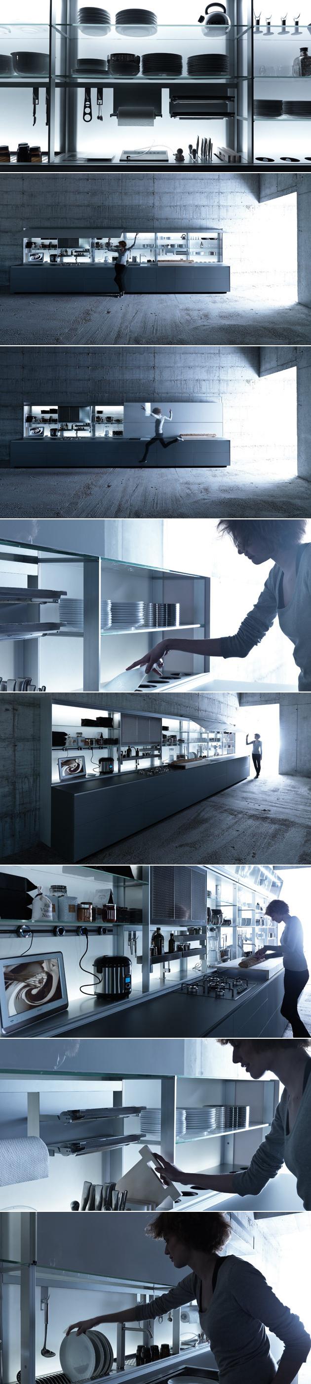 new logica system' by valcucine | cucine | pinterest, Kuchen