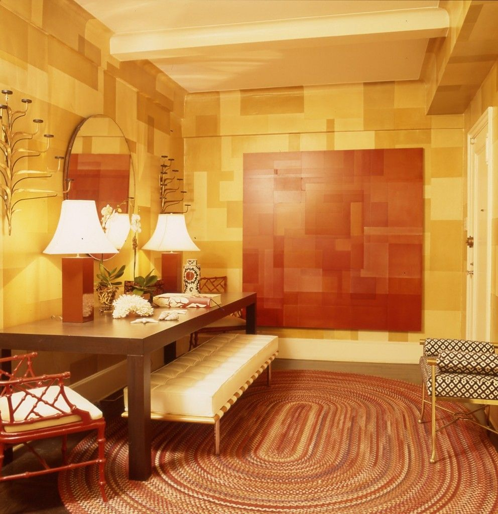 warm color scheme orange and yellow interior design tips on interior color schemes id=30889