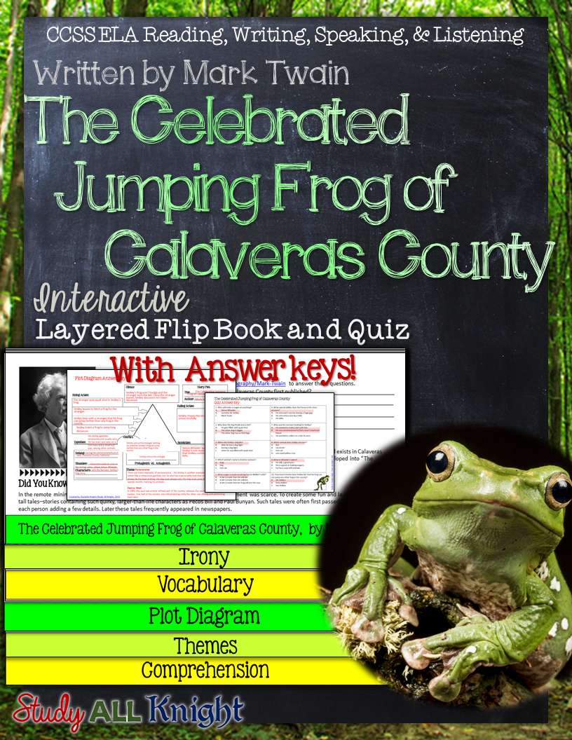 the notorious jumping frog of calaveras county analysis