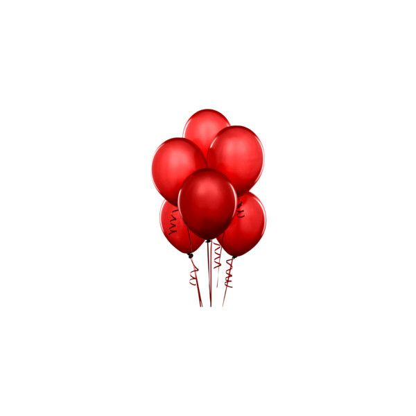 1 Balloon Red Png Aesthetic Objects Red Aesthetic Balloons