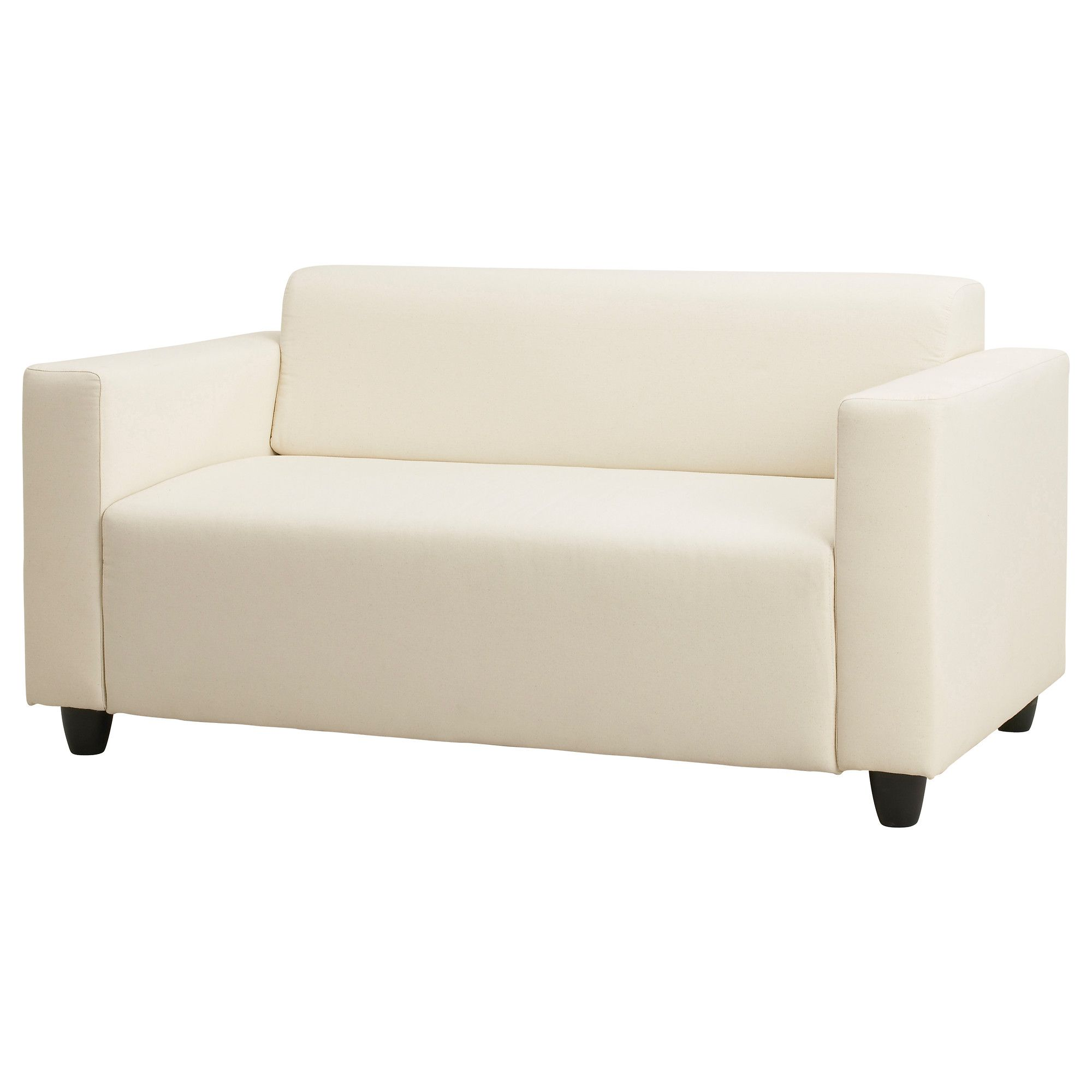 Klobo Two Seat Sofa Ikea 179 Lussebo Natural Only: sofa depth