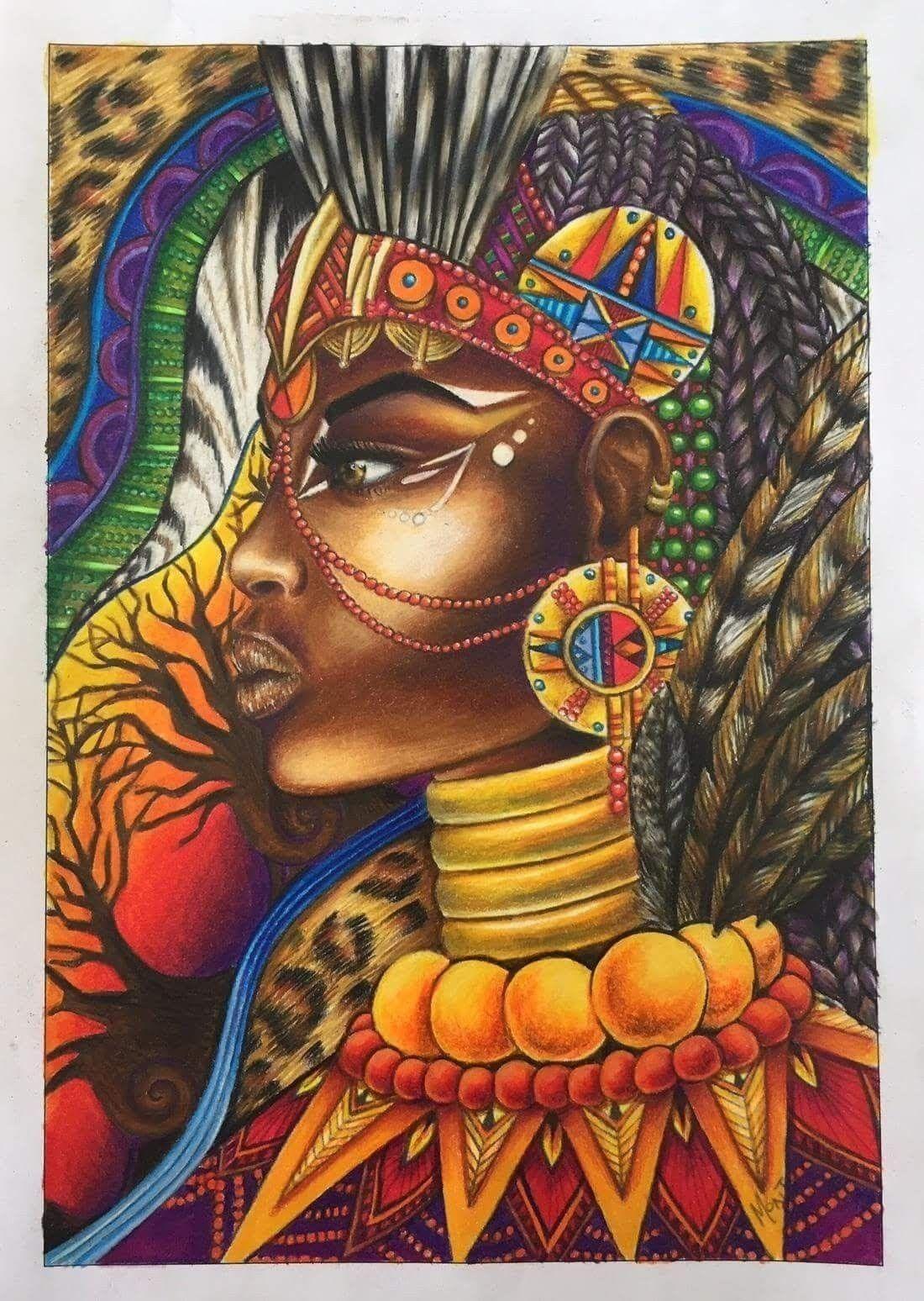 Pin by Tama Sama on Black art | Black love art, African