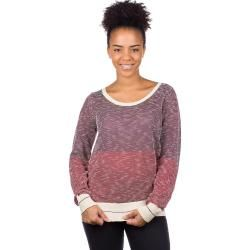 Photo of Iriedaily 2 Tone Biquet Knit Pullover rot Damen Iriedaily
