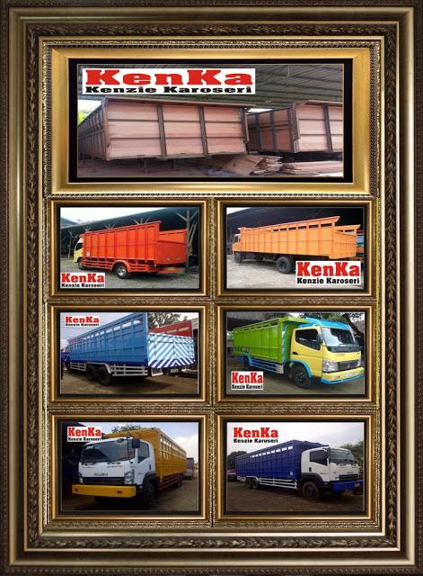 Karoseri Bak Kayu Karoseri Truck Kenka Bak Trailer Mobil