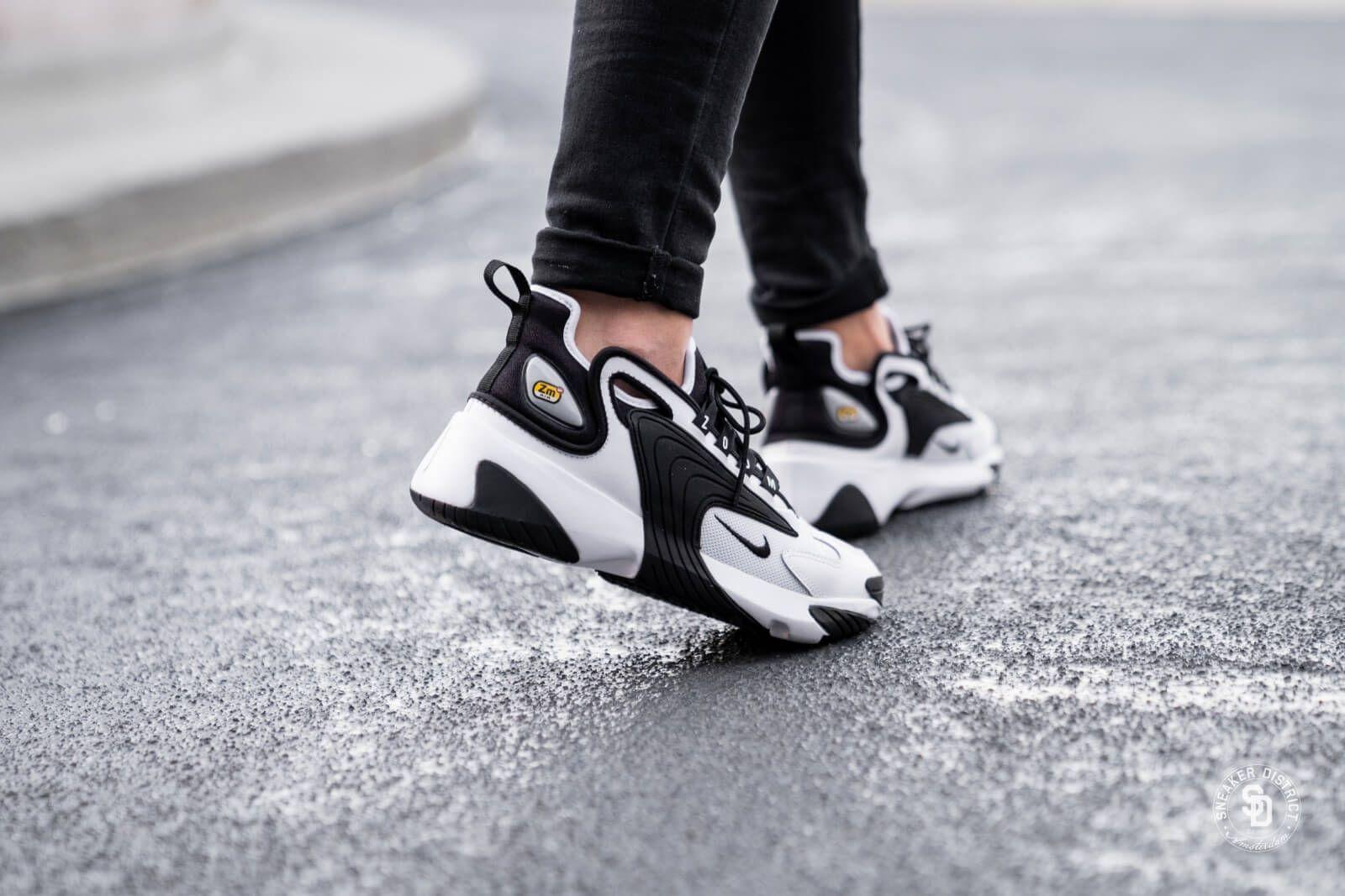 89656f51 Nike Zoom 2K White/Black Линия Кроссовок Nike Zoom, Комплекты Nike, Nike Air