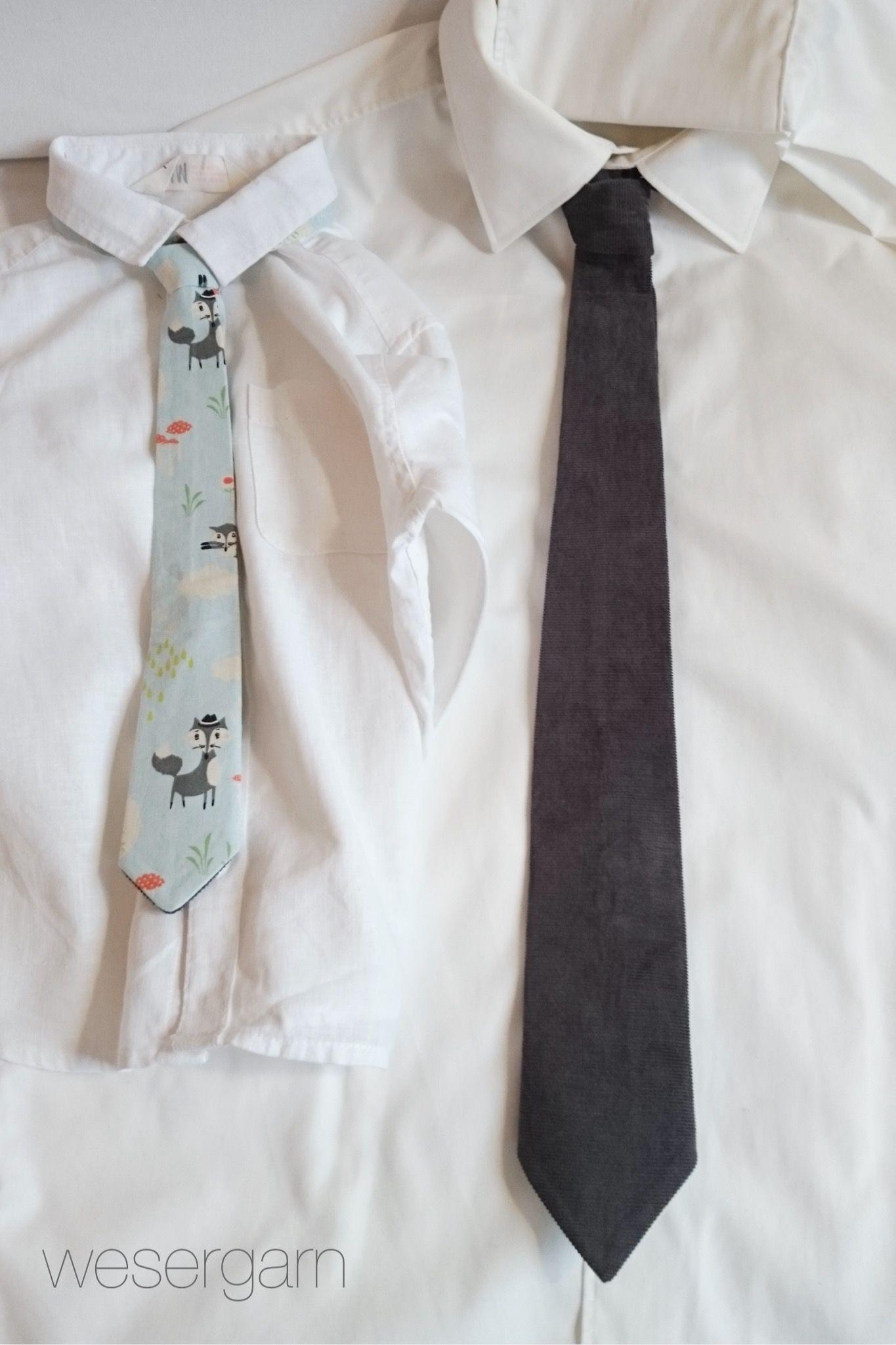 Schnittmuster Krawatte für Kinder und Erwachsene   Krawatten ...