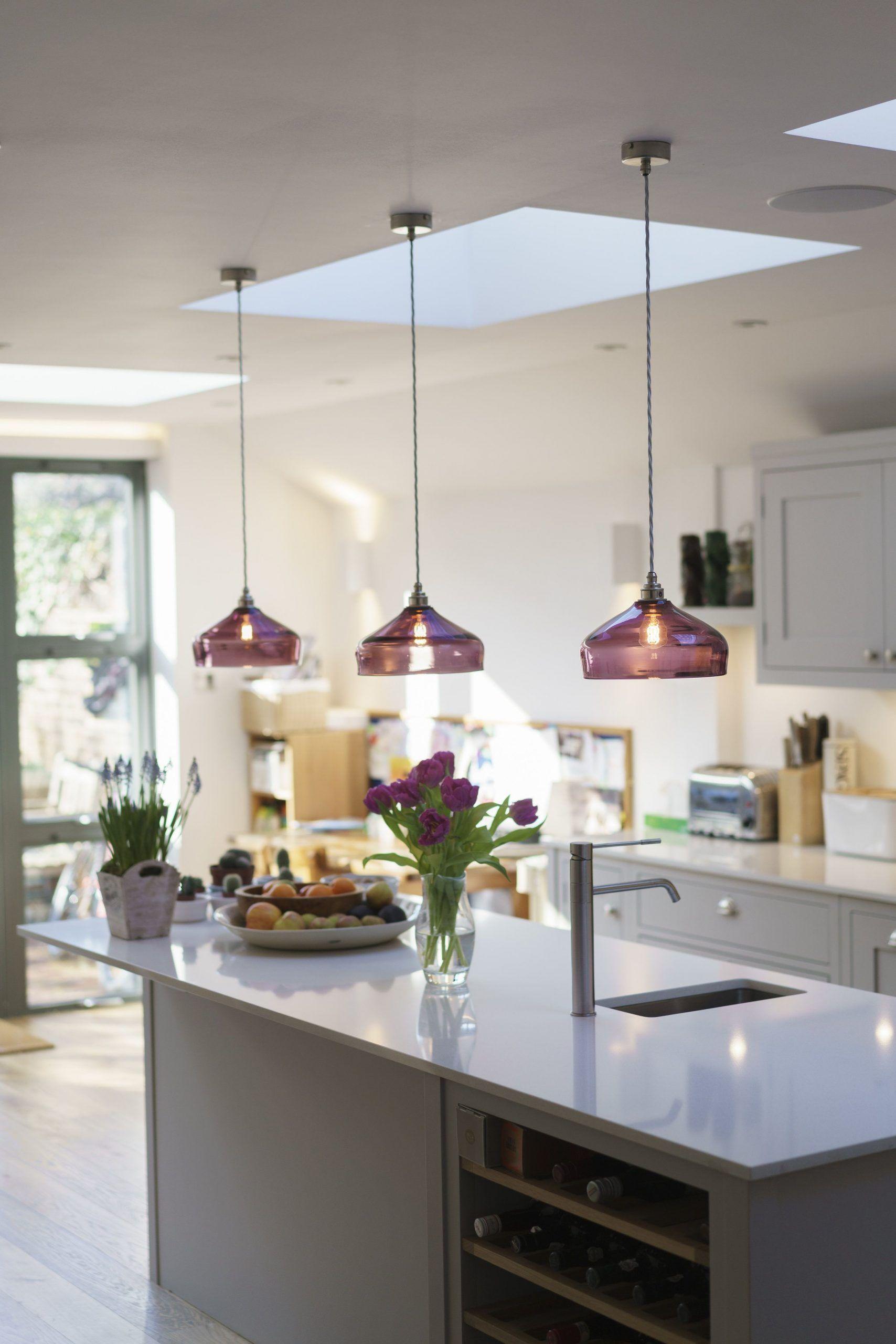 Küche Insel Beleuchtung Stil — Curiousa & Curiousa ...