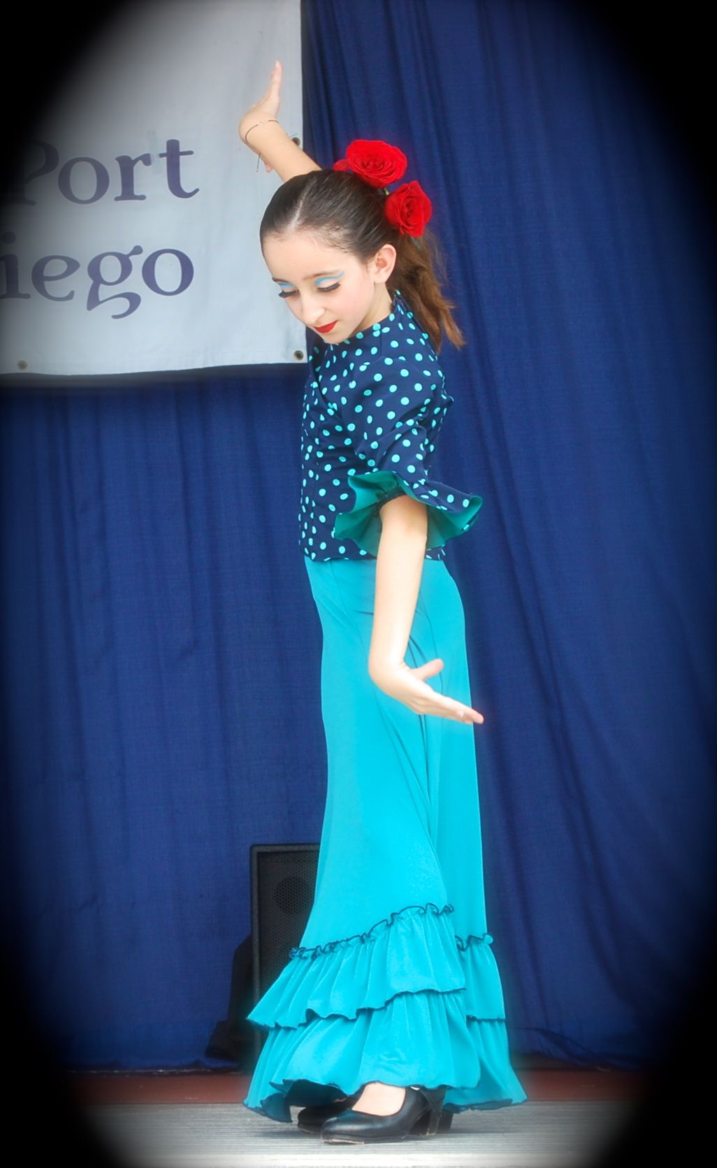 She's 11 and has beautifully graceful flamenca hands….Sail Festival Danzarts.org San Diego, CA