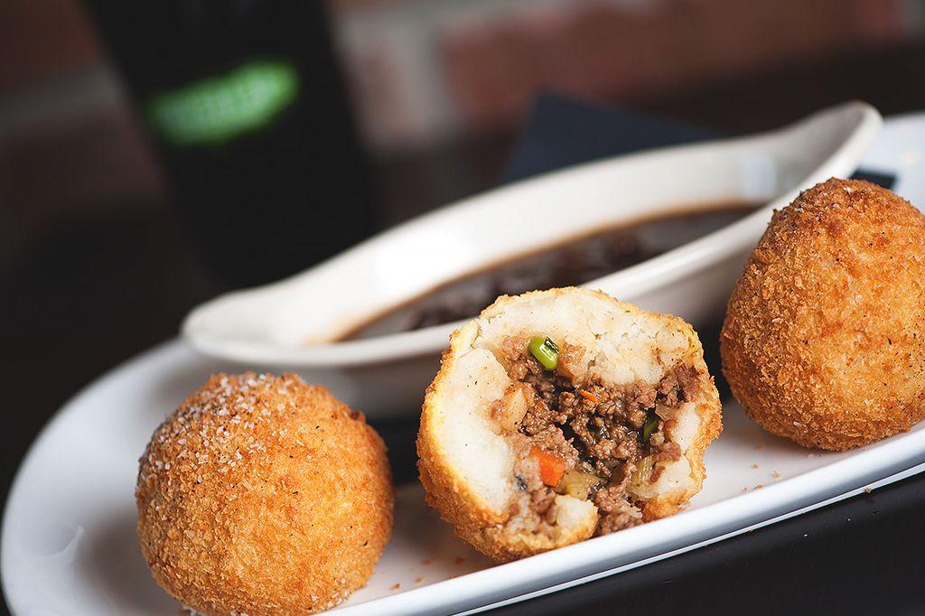 Image Result For Fried Shepherd S Pie Balls Chef Blog St Patricks Day Food Food