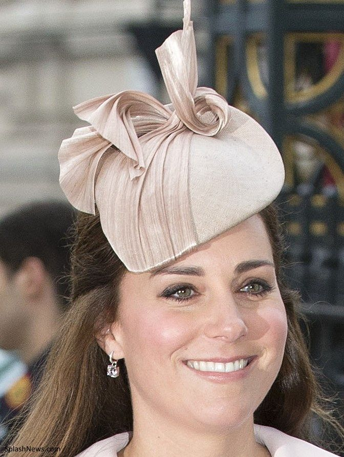 Jane Taylor Millinery, Kiki McDonough pink morganite drop earrings