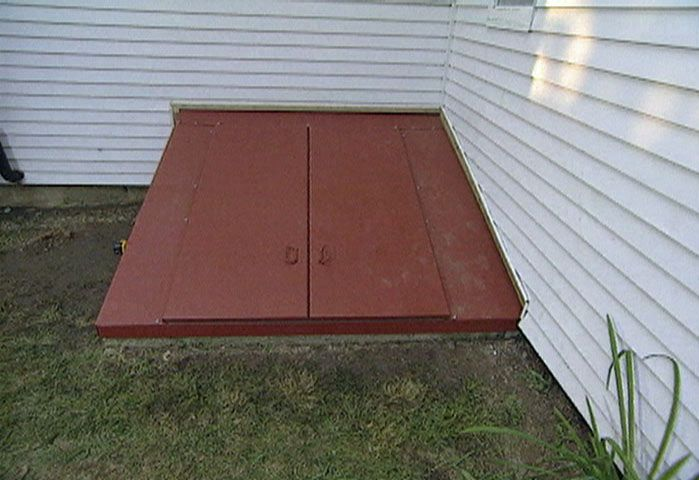 How To Install A Steel Bulkhead Basement Door   This Doesnu0027t Look Too  Impossible