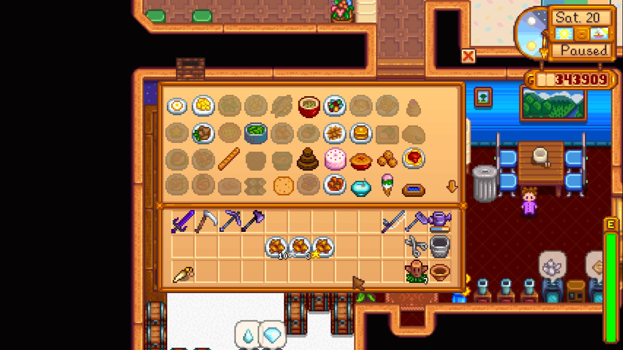 Cooking Skill At Stardew Valley Nexus Mods And Community Cooking Skills Stardew Valley Skills