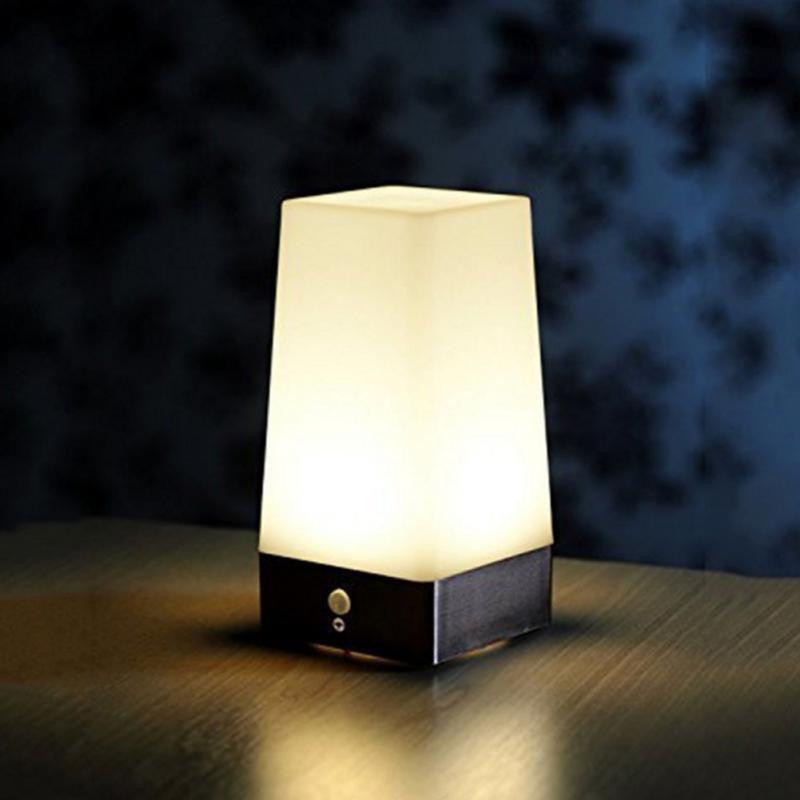 Retro Led Night Light Wireless Pir Motion Sensor Indoor Outdoor Battery Operated Sensitive Portable Mo Motion Sensor Lights Sensor Night Lights Led Night Light