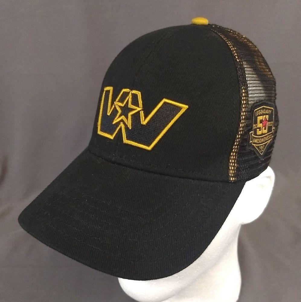 8380dc04c16 Western Star 50 years Snapback Hat Black Mesh Trucker Cap 2017 Legendary  Awesome  Tryon