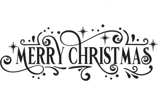 Free Merry Christmas SVG Merry christmas calligraphy