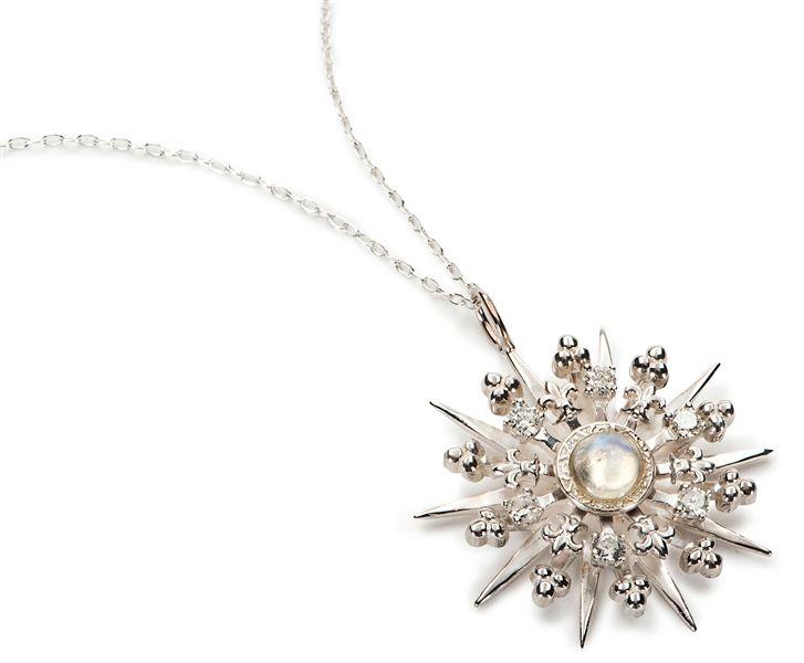 Katie Design Jewelry Starburst charm pendant in sterling silver