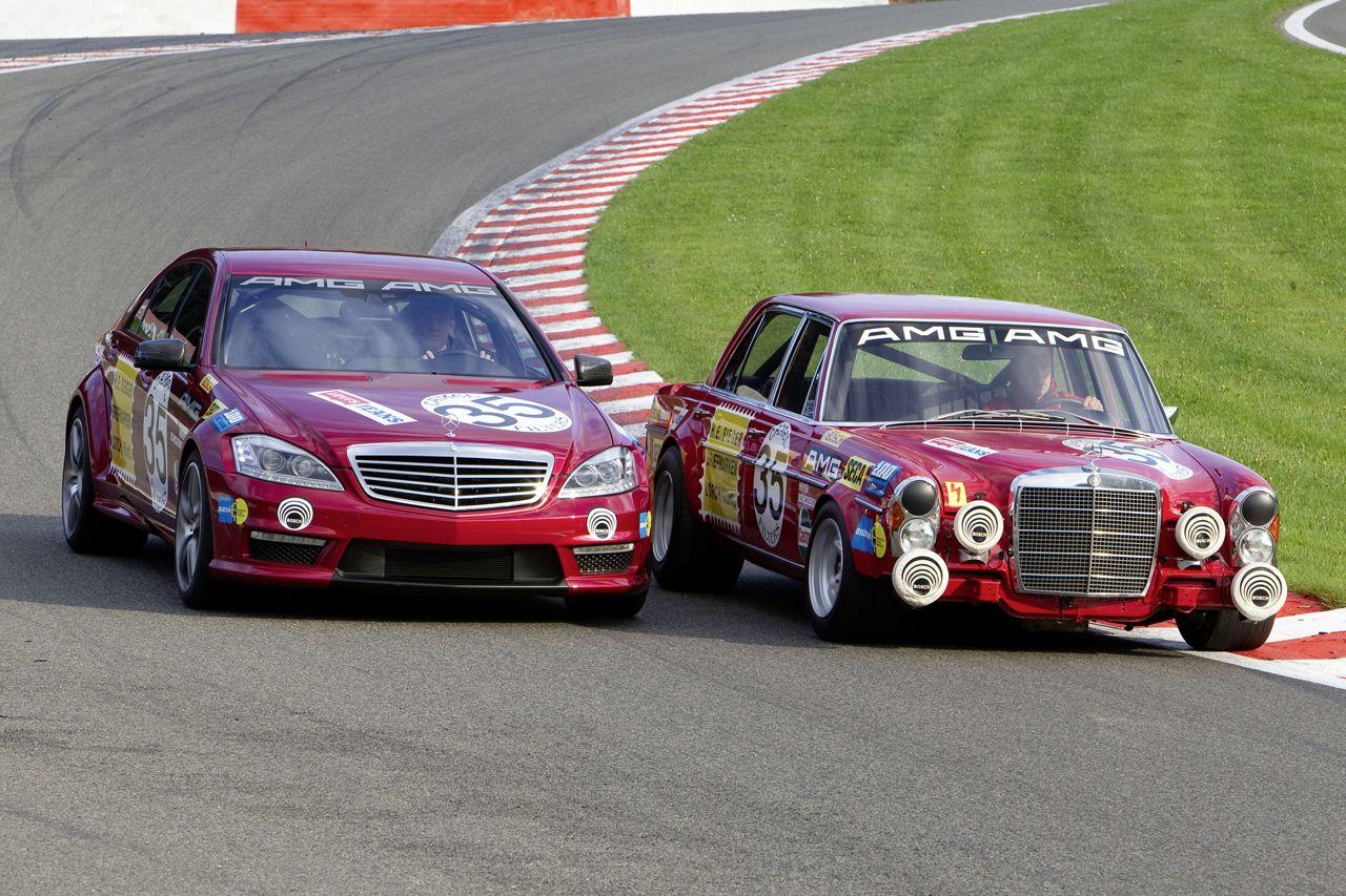 Mercedes-Benz S63 AMG meets 300 SEL 6.8 AMG