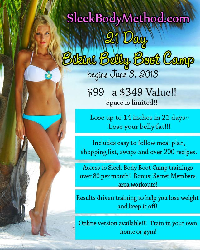 Bikini boot camp online can you
