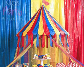 Carnival Party Decorations Big Top Circus Tent Canopy Circus Party