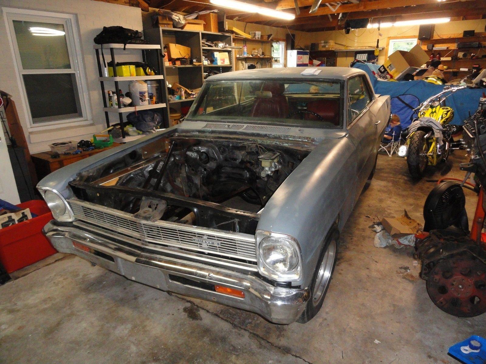 eBay: 1966 Chevrolet Nova 1966 Chevy II Nova Parts/Project car ...
