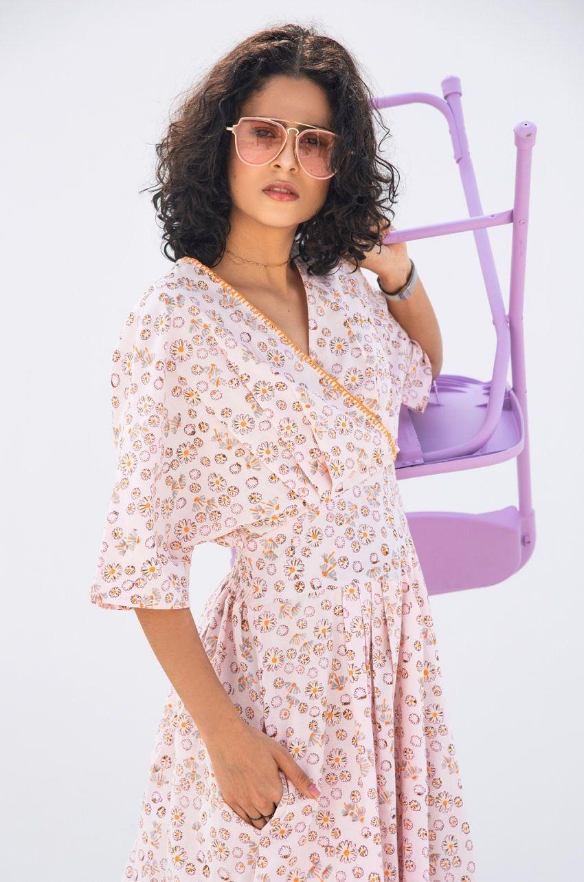 Lavender Floral Print Kimono Sleeve Midi Dress Midi Dress With Sleeves Floral Print Midi Dress Floral Print Kimono [ 1282 x 850 Pixel ]