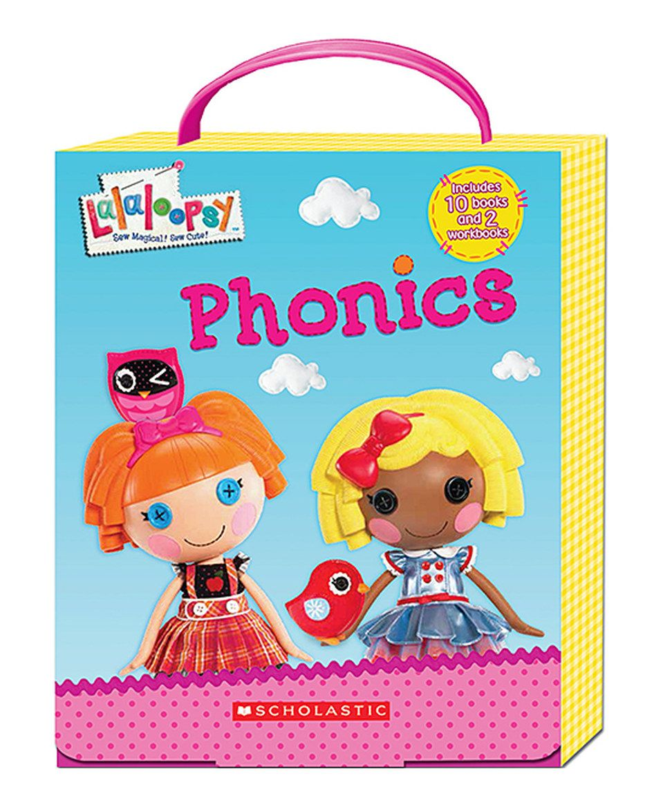 Another great find on #zulily! Lalaloopsy Phonics Boxed Set by ...