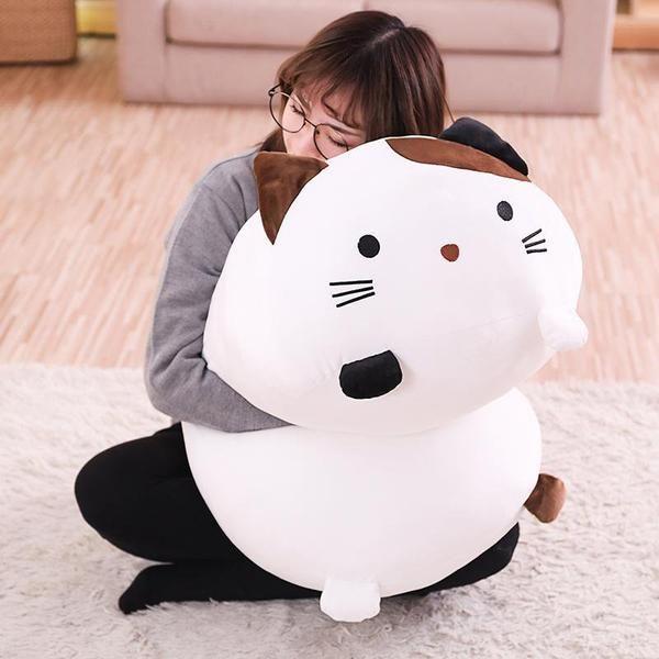 Big Squishy Huggable 90CM Life Sized Cat Dog Plush Toys - FreakyPet