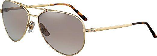 31bfa1018a Cartier sunglasses santos horizon 61 16 gold. UK sunglasses. Women  sunglasses. It s an Amazon affiliate link.