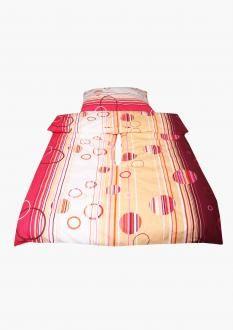 Holey Quilt® obliečka Zipper™ Lory Červená 140x200