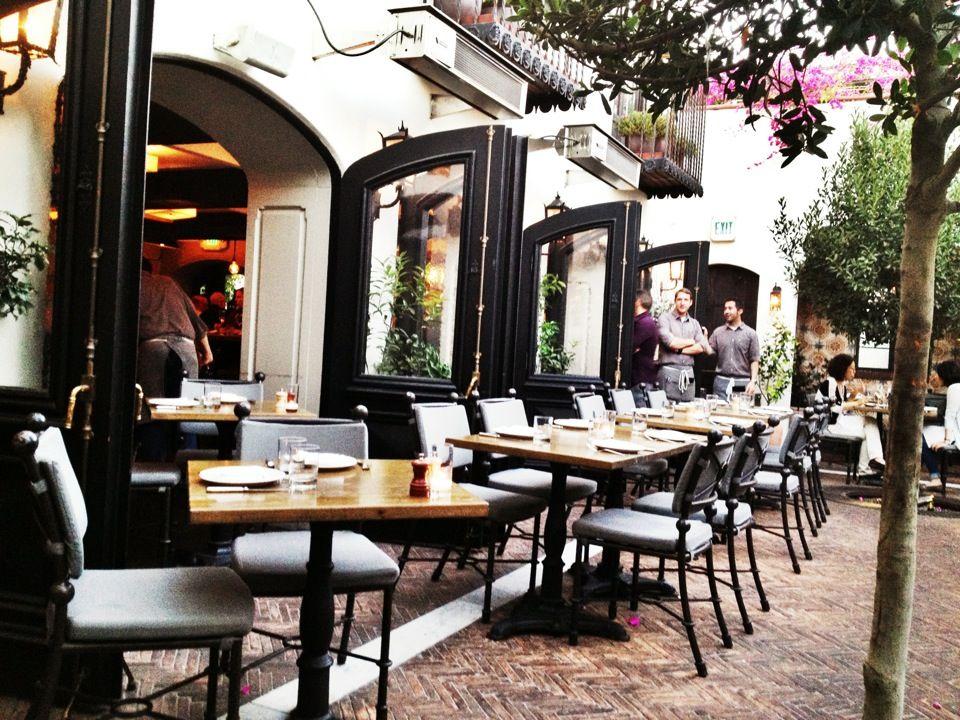 Aoc Wine Bar And Restaurant 8700 West Street Los Angeles California La S Best Tails Winebar