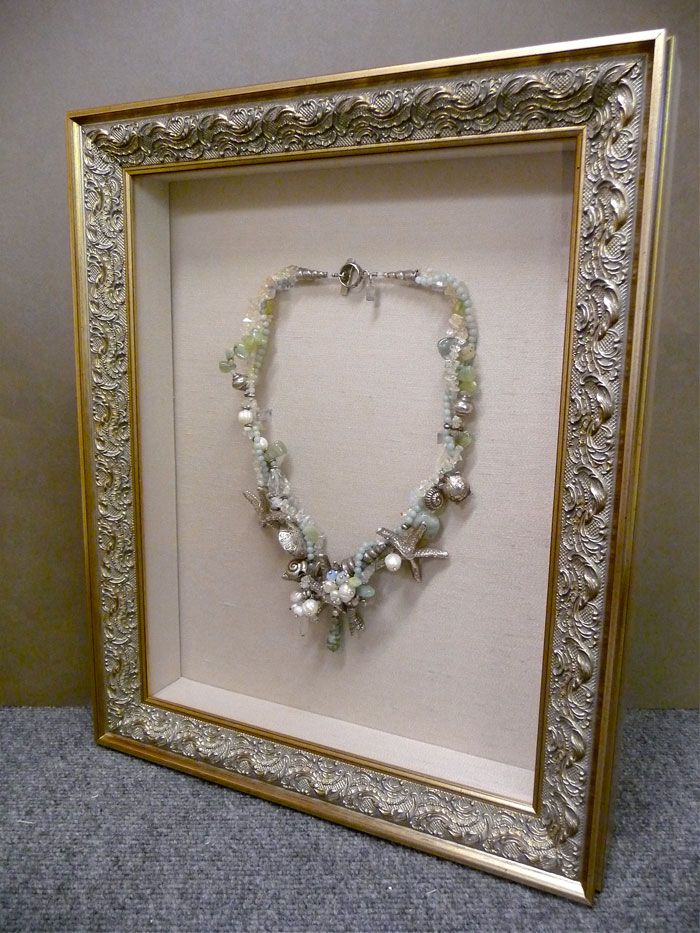 Image result for framed jewelry