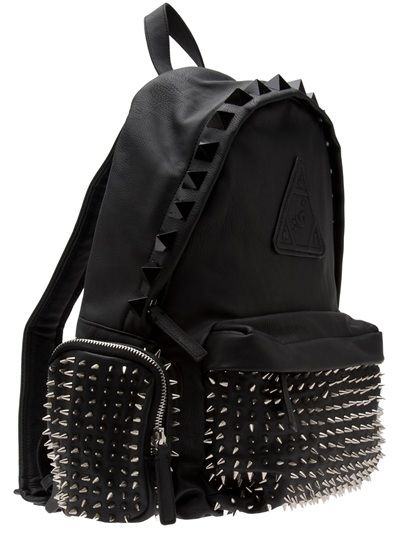 4e4ba8236 Bags & Accessories: spiked back pack | Structured Dark Urban in 2019 ...