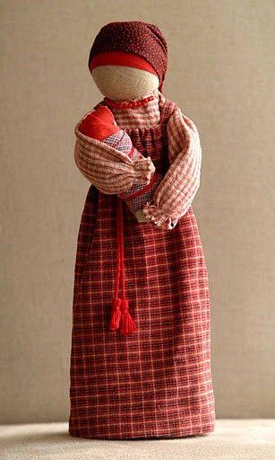Mother / Baby motanka doll. Лиза Арбузова.
