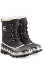 sorel gef tterte winter boots caribou aus leder und gummi. Black Bedroom Furniture Sets. Home Design Ideas